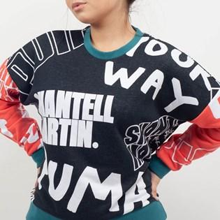 Moletom Puma X Shantell Martin Crew Preto 57654501