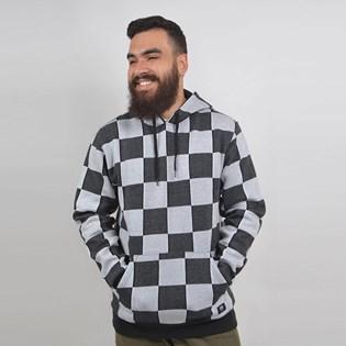 Moletom Vans Capuz Checker Jacquard Po Black White VN0A3W3BY28