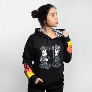 Moletom Vans Capuz Punk Mickey Hoodie Disney Black VN0A3UHWBLK