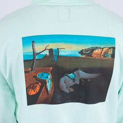Moletom Vans MoMA Salvador Dalí Capuz Po Green VN0A4RQD21Z