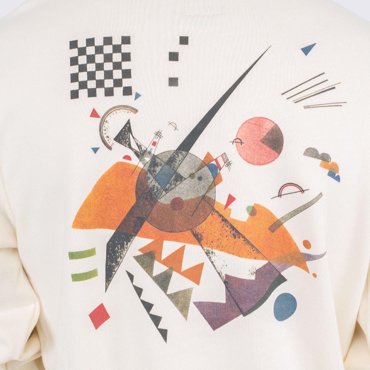 Moletom Vans MoMA Vasily Kandinsky Gola Careca Crew Cream VN0A4RQE1ID