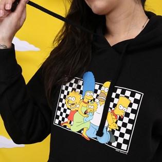 Moletom Vans The Simpsons Feminino Capuz Family Fleece VN0A4V48ZZZ