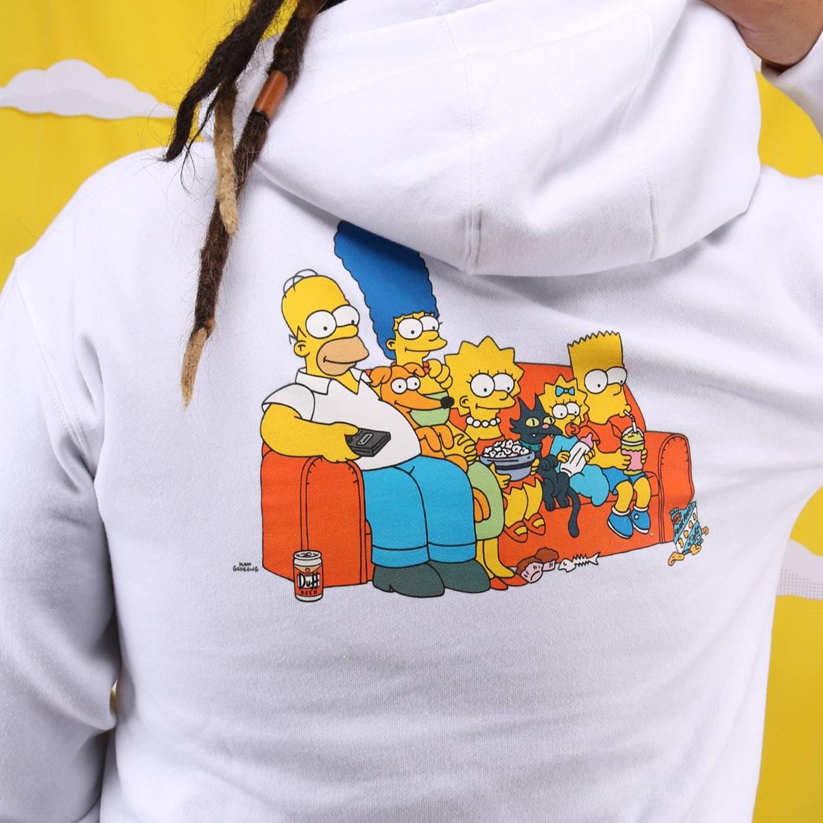 Moletom Vans The Simpsons Masculino Capuz Family Po VN0A4RTPZZZ