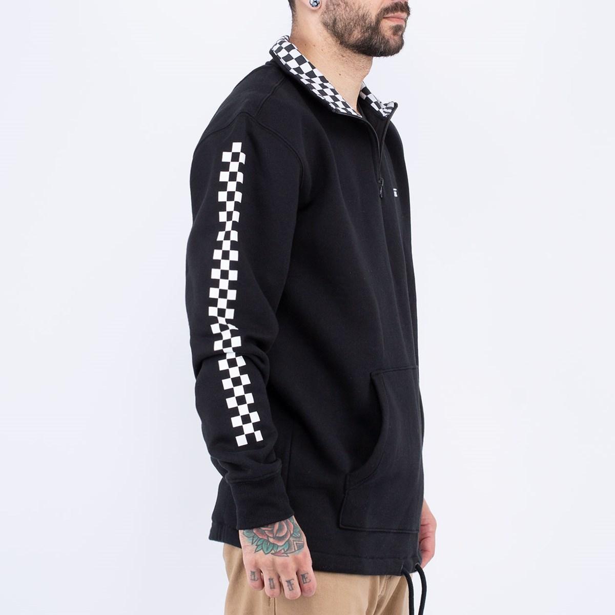 Moletom Vans Versa QZP Black Checkerboard VN0A3W3D95Y