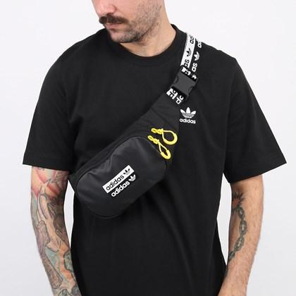 Pochete Adidas Ryv Waistbag Black FM1296