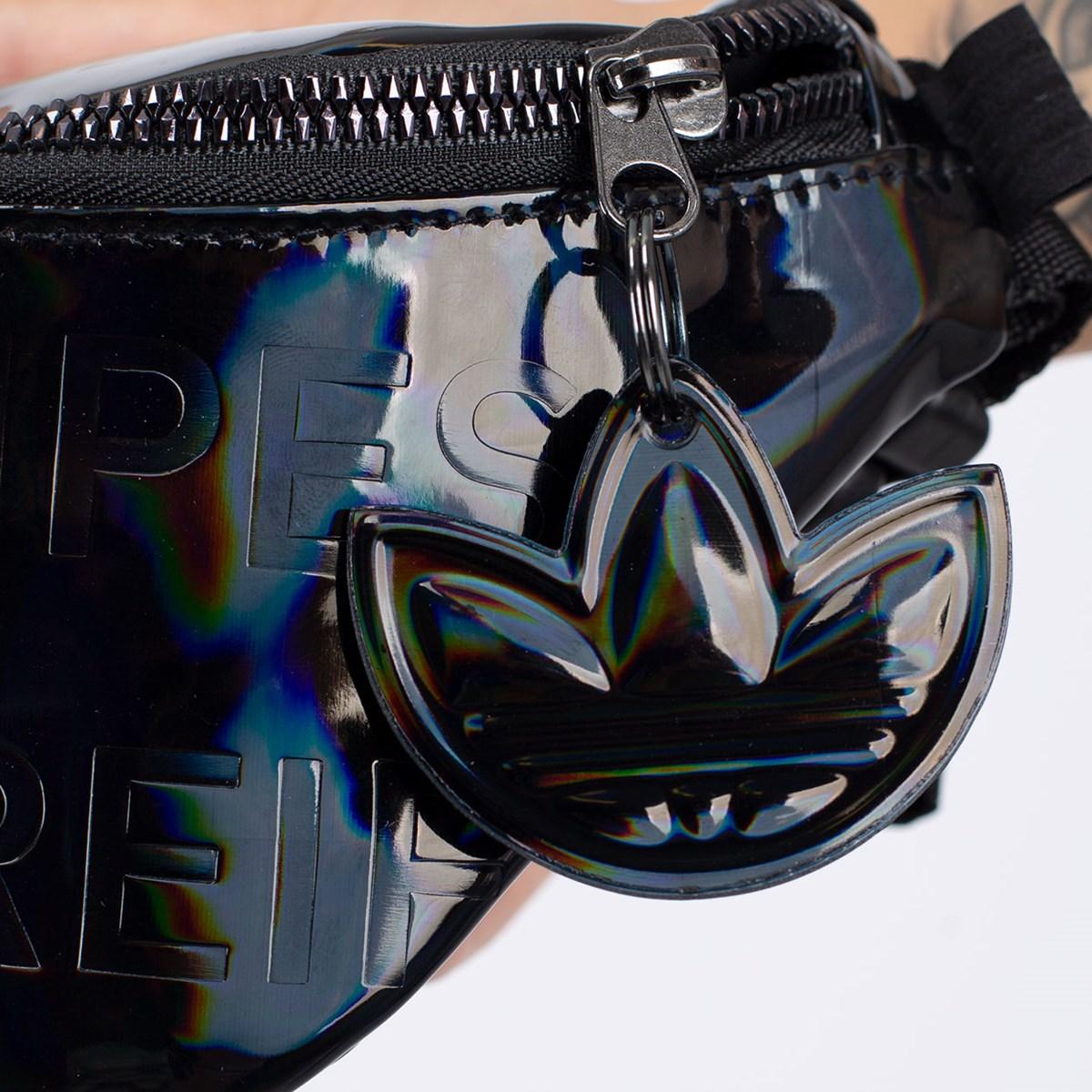 Pochete adidas Waistbag Metallic Black GD1661