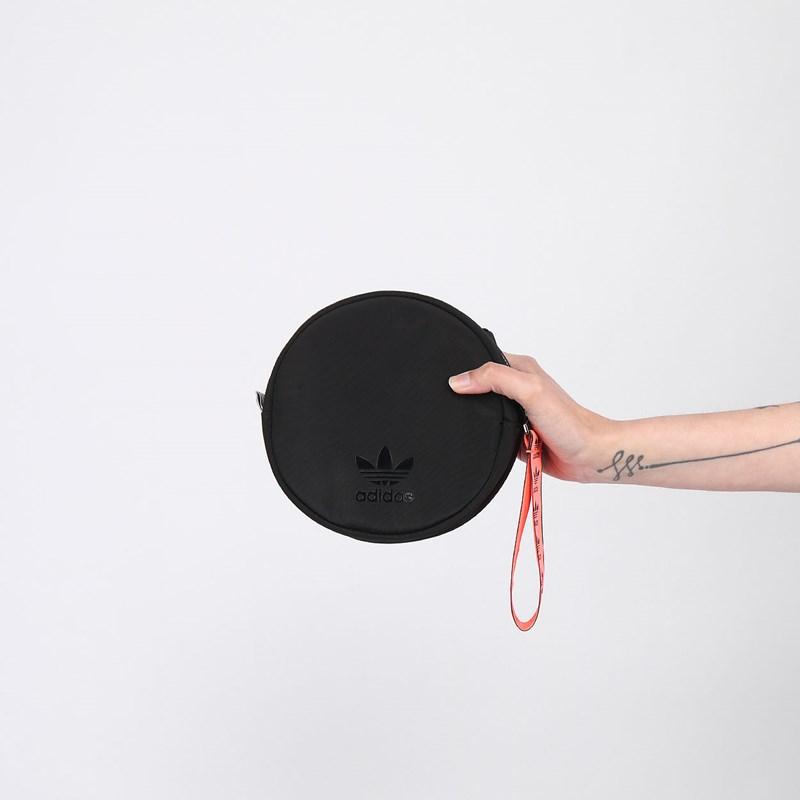 Pochete Adidas Waistbag Round Black FL9617
