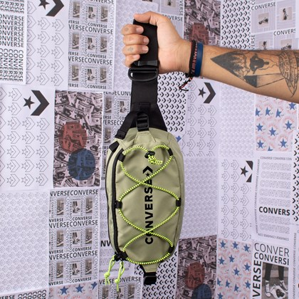 Pochete Converse Swap Out Sling Green 10017263-A11