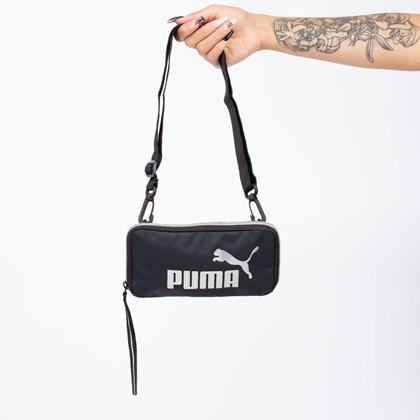 Pochete Puma Core Up Sling Bag Black 077480-01