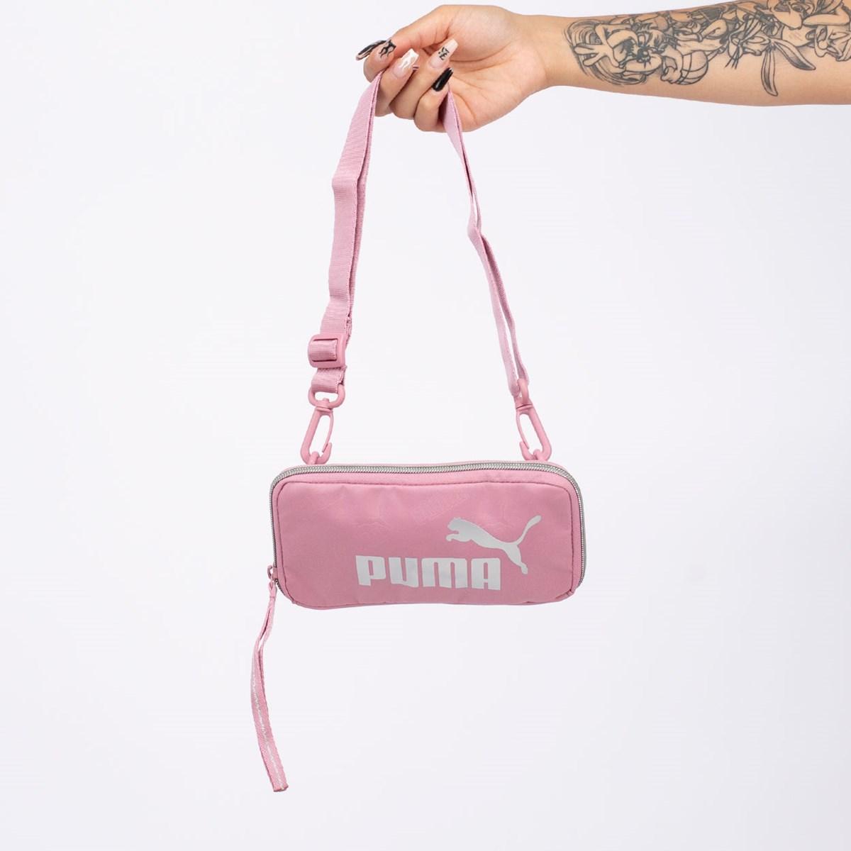 Pochete Puma Core Up Sling Bag Foxglove 077480-02