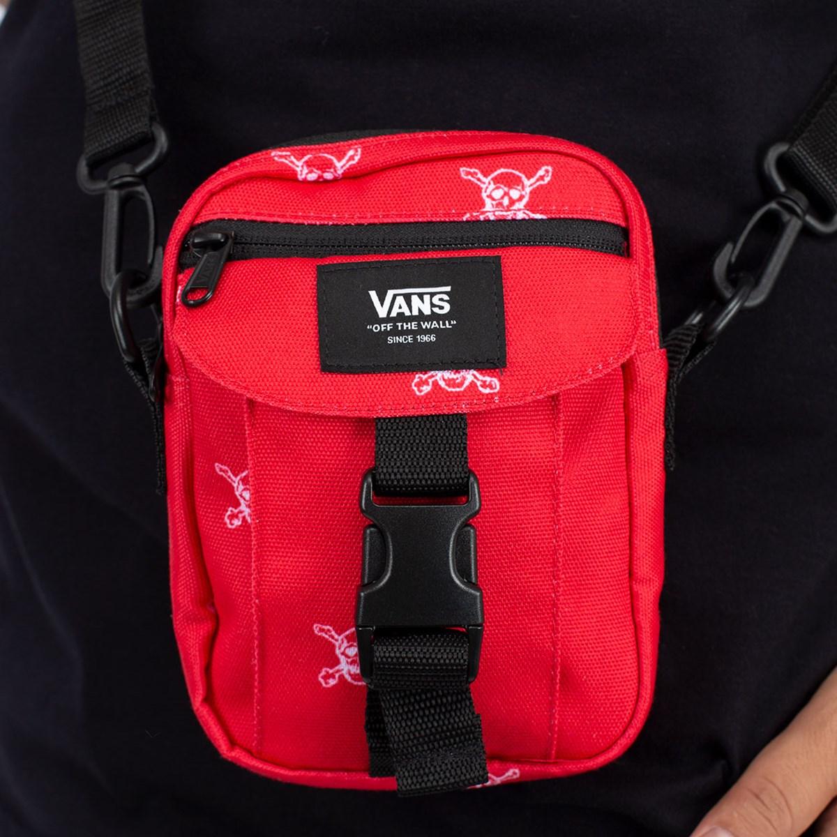 Pochete Vans High Risk Red VN0A5FGKZ72