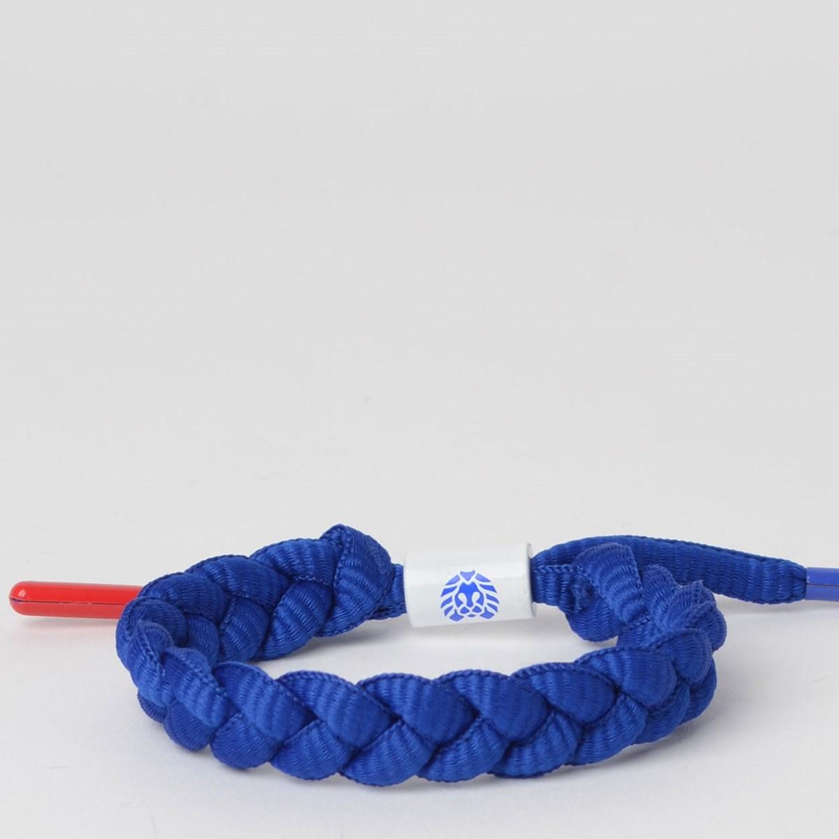 Pulseira Rastaclat Champion Blue White Red RC001CMPB
