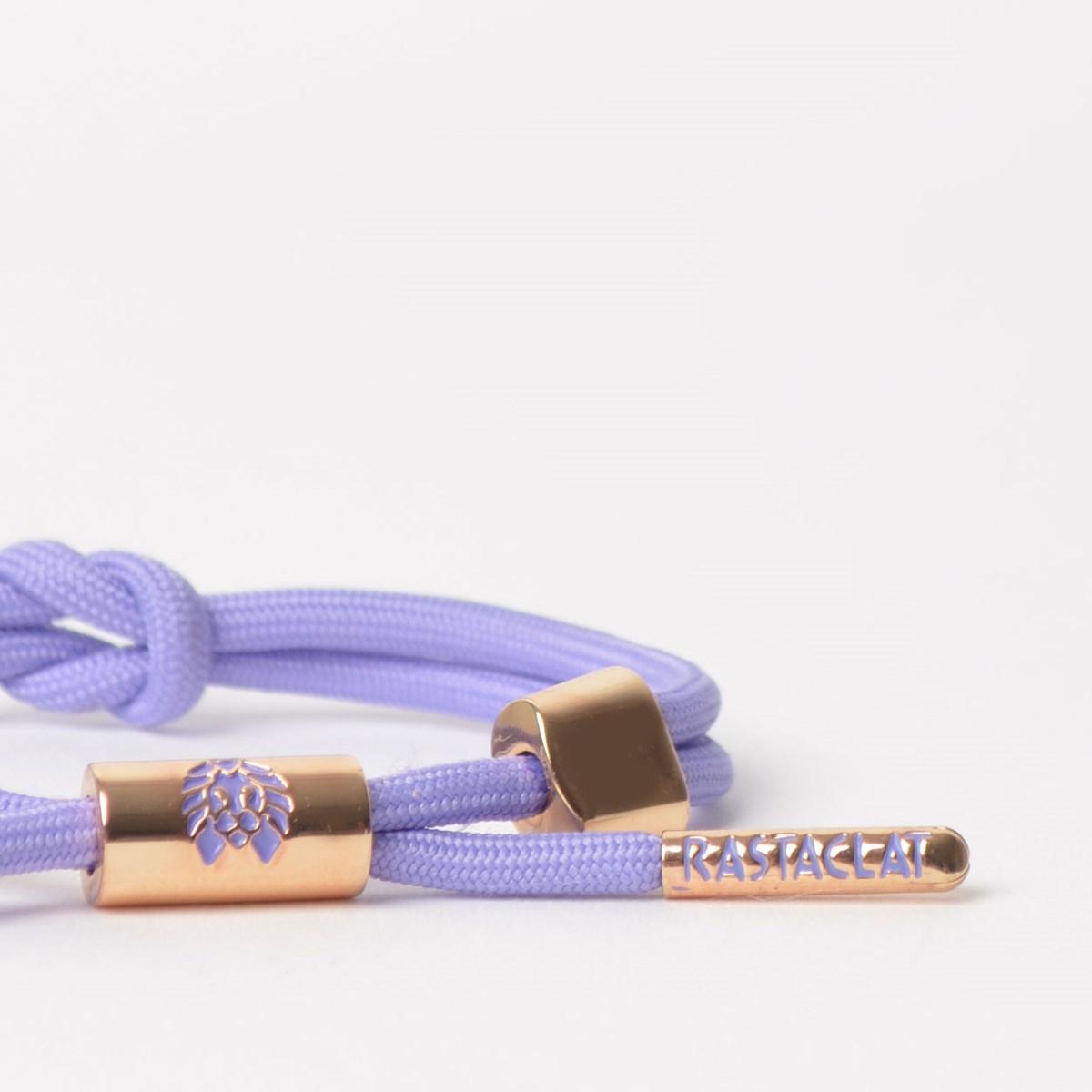 Pulseira Rastaclat Feminina Miniknot Violet II Lavender Rose Gold Violet RCW025VILT