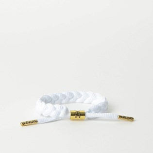 Pulseira Rastaclat Unissex Classic Zion II White RC001WHT