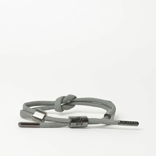 Pulseira Rastaclat Unissex Knotaclat Armory Silver RC025ARMR
