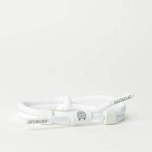 Pulseira Rastaclat Unissex Knotaclat Chalk White RC025CHK