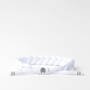 Pulseira Rastaclat Unissex Level 1 White Black RC001LVL1
