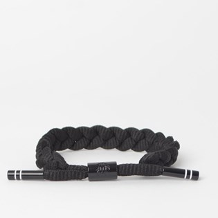Pulseira Rastaclat Unissex Level 9 Black White RC001LVL9