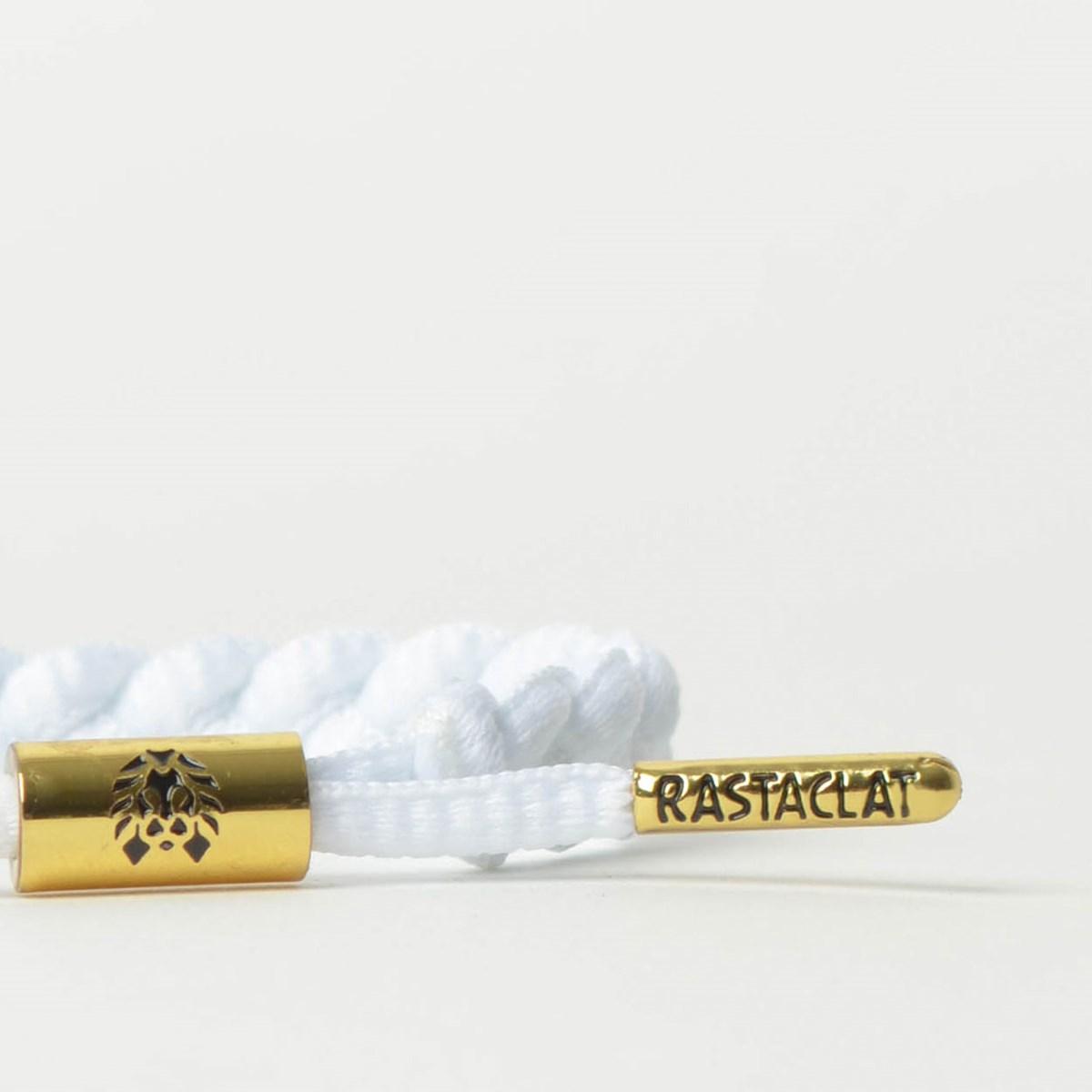 Pulseira Rastaclat Unissex Miniclat Classic Zion White RCW001WHT