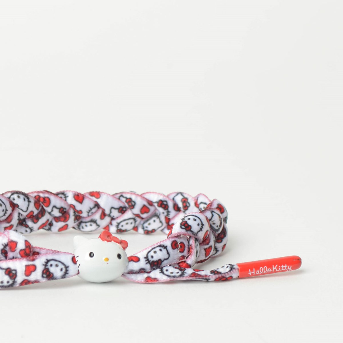 Pulseira Rastaclat Unissex Sanrio Hello Kitty White Red RC001HKRD