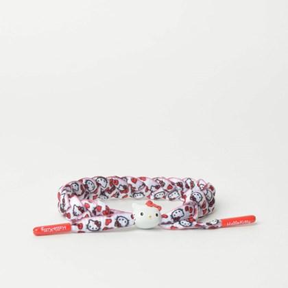 Pulseira Rastaclat Unissex Sanrio Hello Kitty White Red RC001HKRD