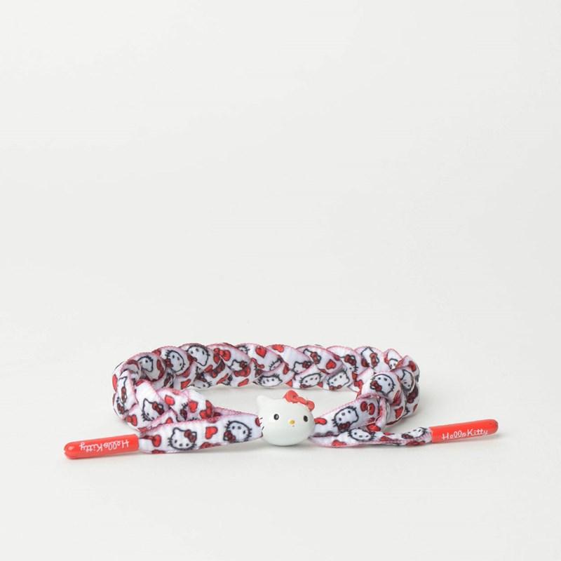 ab84c13c58 Pulseira Rastaclat Unissex Sanrio Hello Kitty White Red RC001HKRD ...