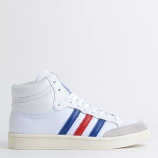 Tênis Adidas Americana Hi White Blue EF2803