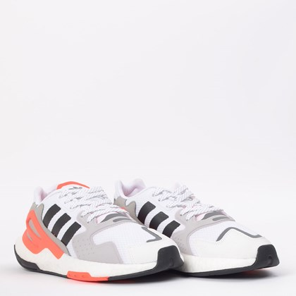 Tênis adidas Day Jogger Ftwr White Core Black Gray Two FW5229