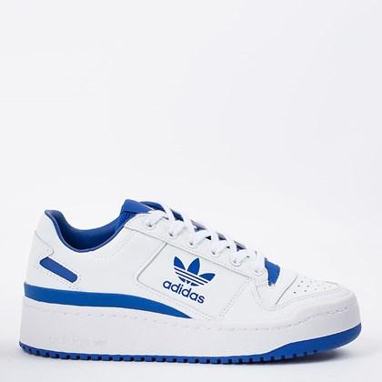 Tênis adidas Forum Bold Cloud White Royal Blue FY4530