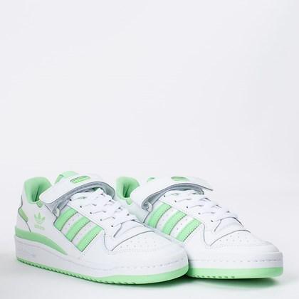 Tênis Adidas Forum Low Branco Verde GX5072