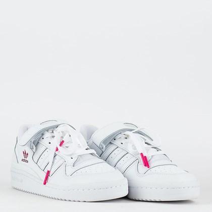Tênis adidas Forum Low Cloud White Shock Pink G58001