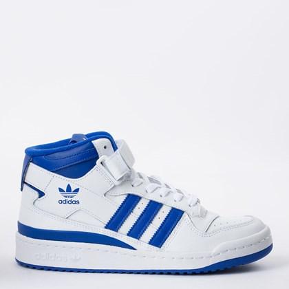 Tênis adidas Forum Mid Cloud White Royal Blue G57985