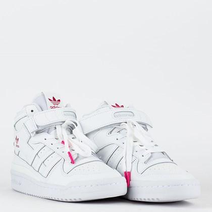 Tênis adidas Forum Mid Cloud White Shock Pink G57984