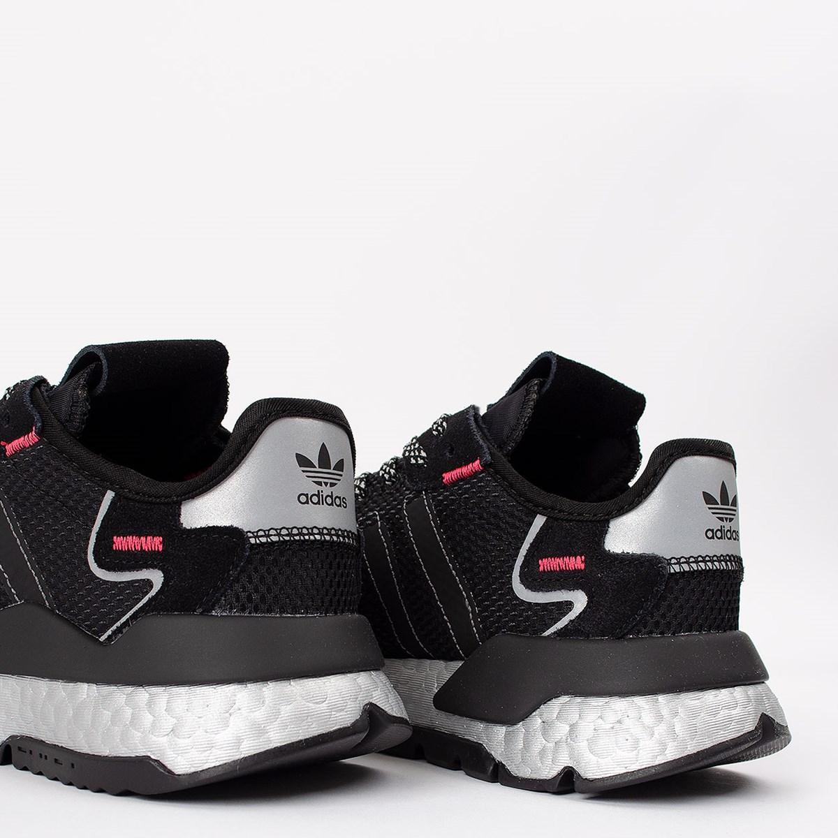 Tênis adidas Nite Jogger Core Black Silver Metallic FV4137