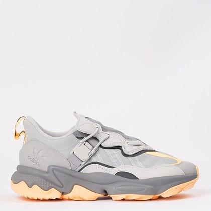 Tênis adidas Ozweego Flipshield Grey Two Acid Orange FX6045