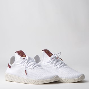 Tênis Adidas PW Tennis HU W Branco Bordo Pharrell Williams D96443