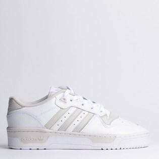 Tênis Adidas Rivalry Low Branco Cinza EE4966