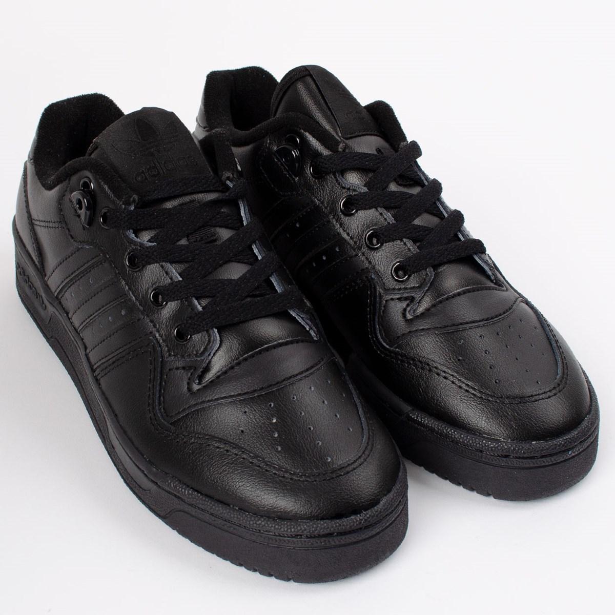 Tênis adidas Rivalry Low Core Black EG3637