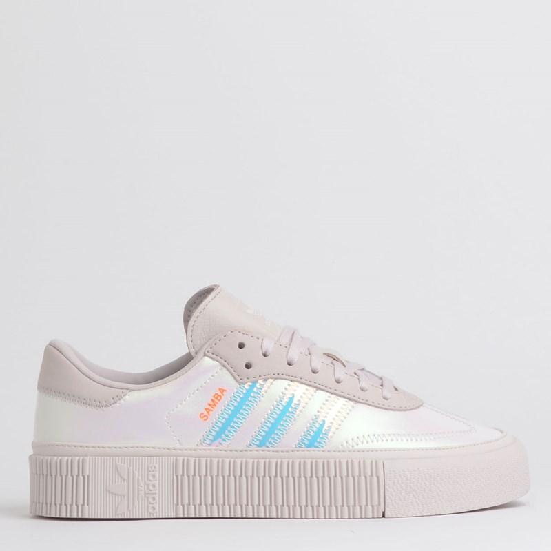 Tênis Adidas Sambarose W Branco Perola EE5128
