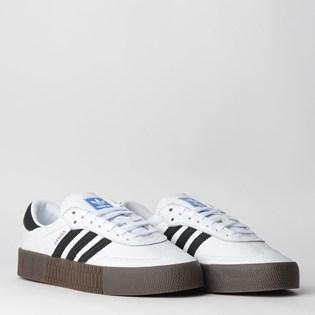 Tênis Adidas Sambarose W Branco Preto AQ1134