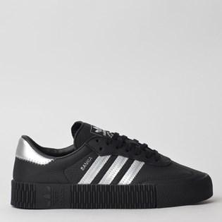 Tênis Adidas Sambarose W Preto Prata EE4682