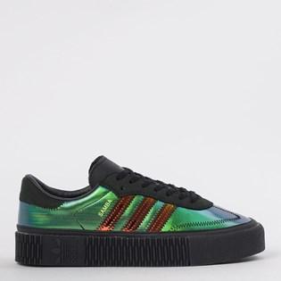 Tênis Adidas Sambarose W Preto Verde Perola EE8736