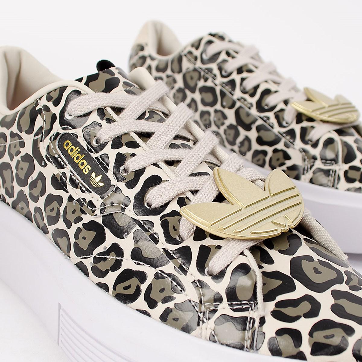 Tênis adidas Sleek Super Clear Brown FY5075