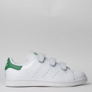 Tênis Adidas Stan Smith CF Branco Verde S75187