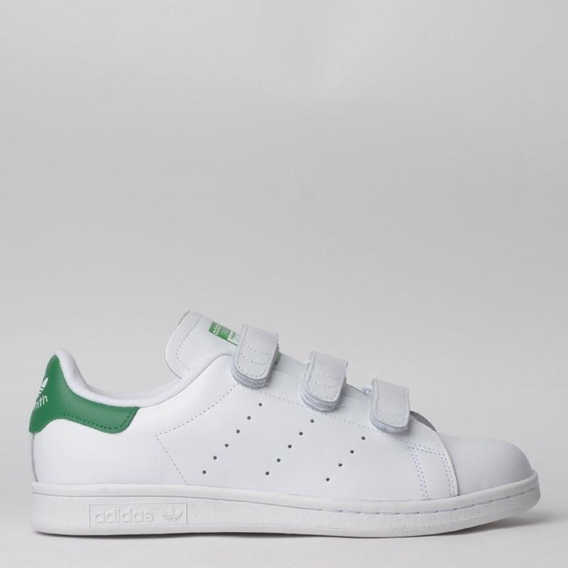 quality design e8259 91bf0 Tênis Adidas Stan Smith CF Branco Verde S75187