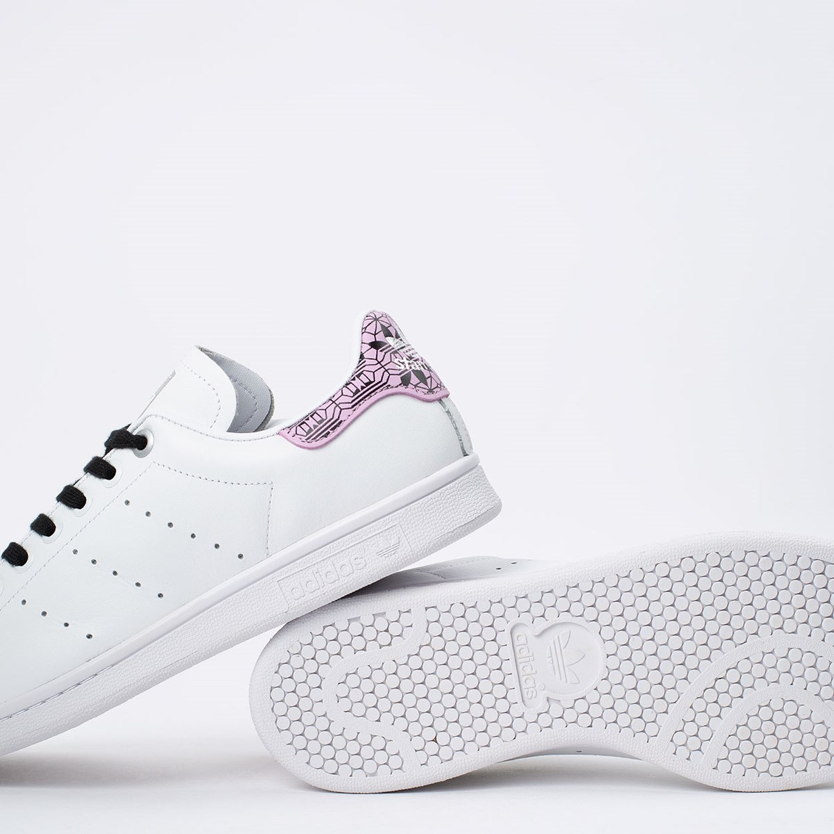 Tênis adidas Stan Smith Ftwr White Clear Lilac EH2038