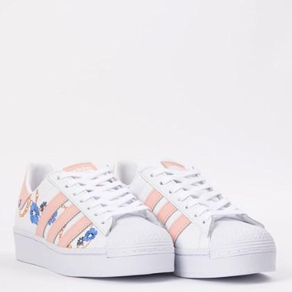 Tênis adidas Superstar Bold W Ftwr White Vapuor Pink FW2547