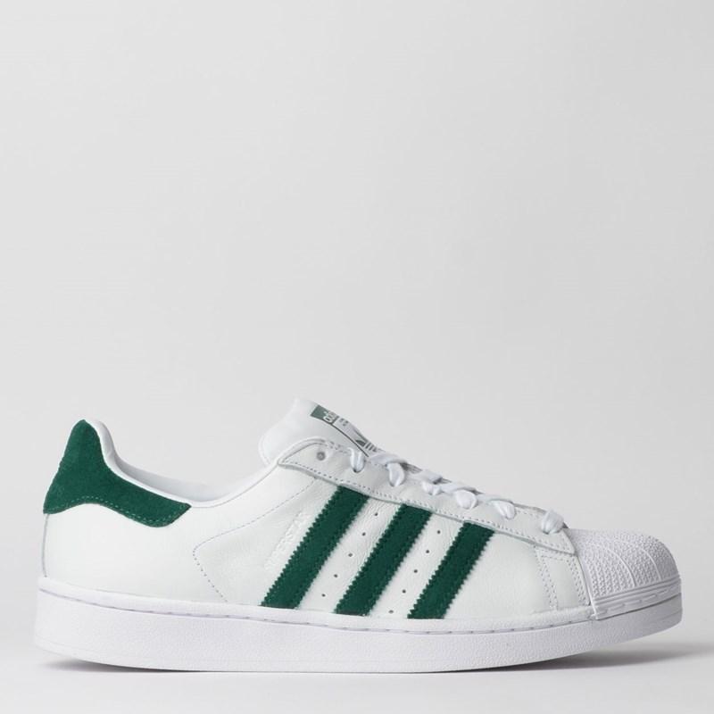 Tênis Adidas Superstar Branco Verde EE4473