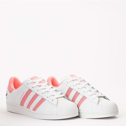 Tênis Adidas Superstar Cloud White Ray Pink H03895