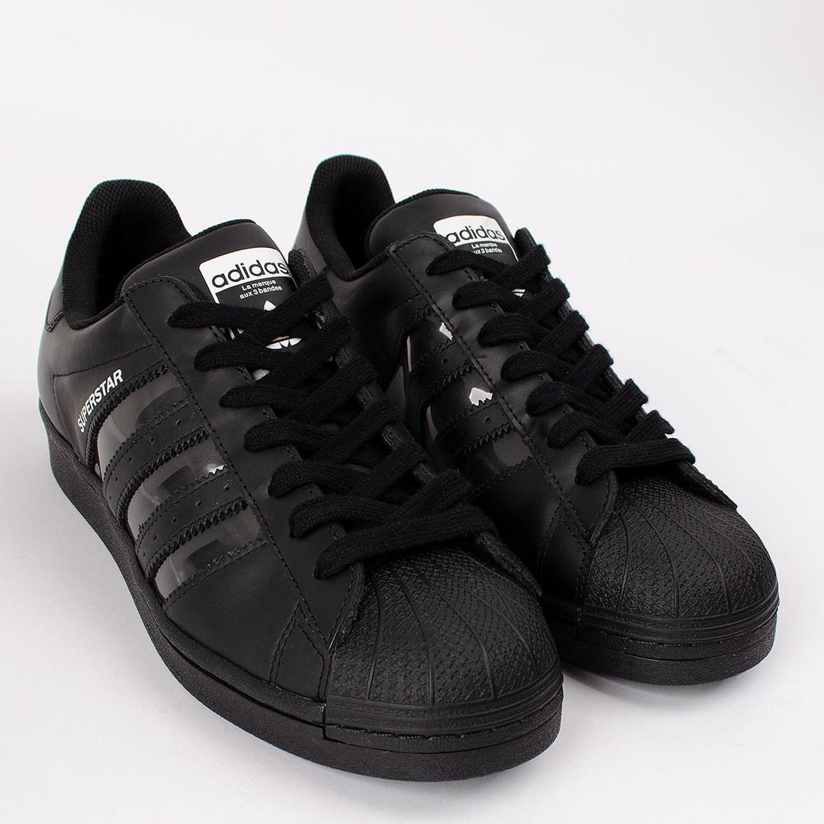 Tênis adidas Superstar Core Black FX5567